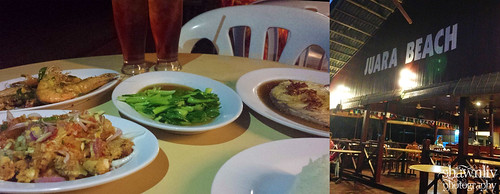 Dinner at Juara Beach Resort