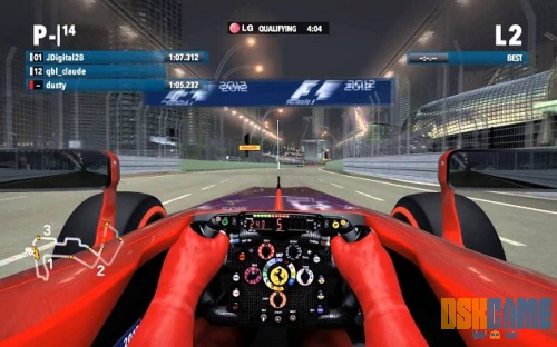 F1 2013 vista en primera persona