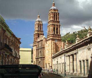 Zacatecas under grey skies