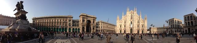Panorama of Duomo di Milano (Milano 2014)