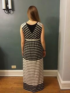 Jersey Dress - Back