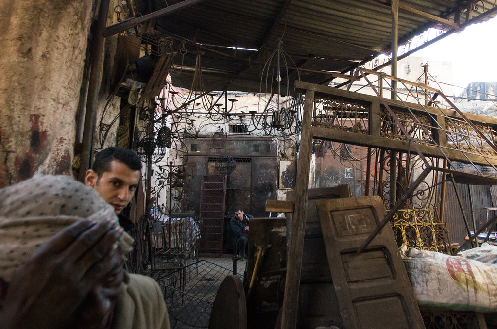 Marrakech - City trek - L'atelier des ferblantiers