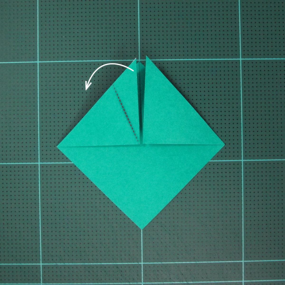 วิธีพับกระดาษเป็นรูปหมวกซามุไร (Origami Samurai Hat) 005
