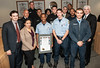 LAFD Cadet Receives Certificate of Appreciation by LAFD