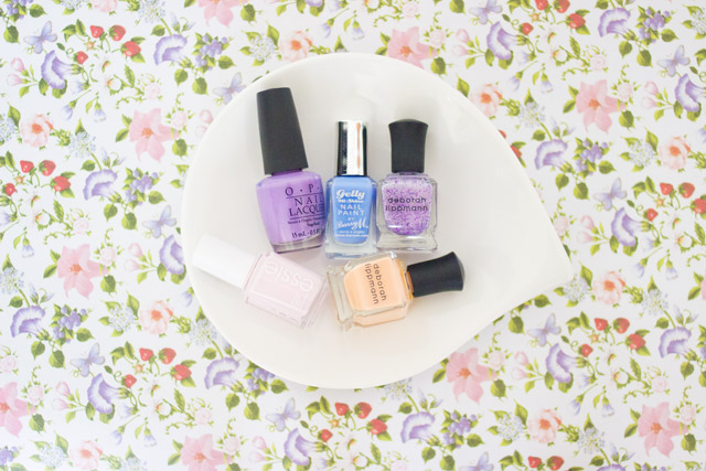 nail polishes for SS14