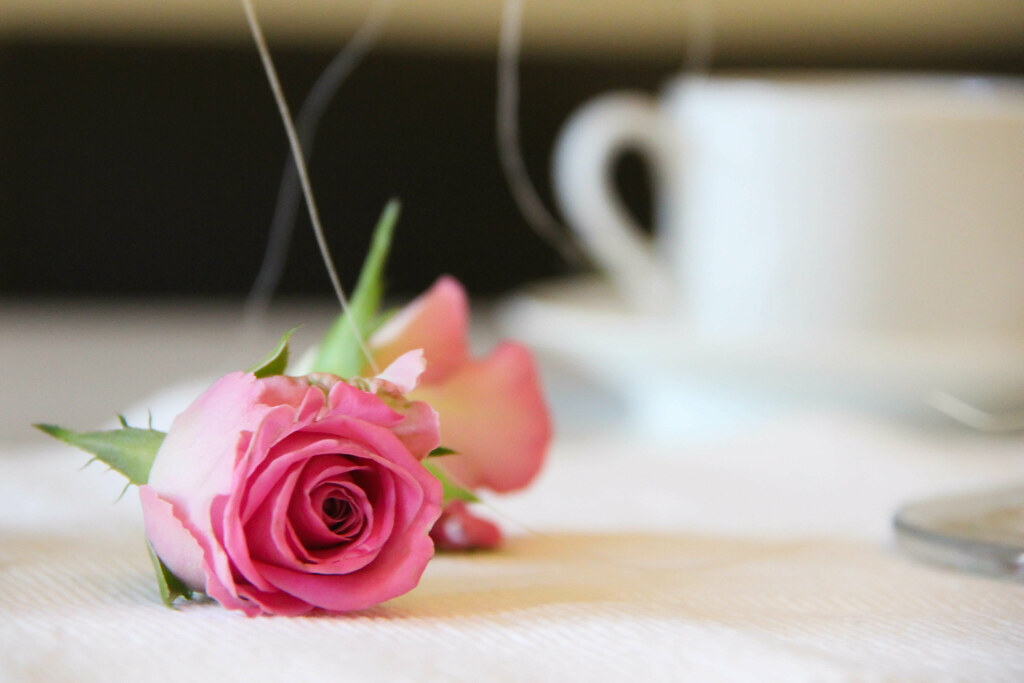 Romance and coffe