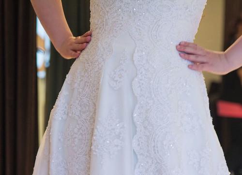 豐腴女孩也能挑到漂亮婚紗16