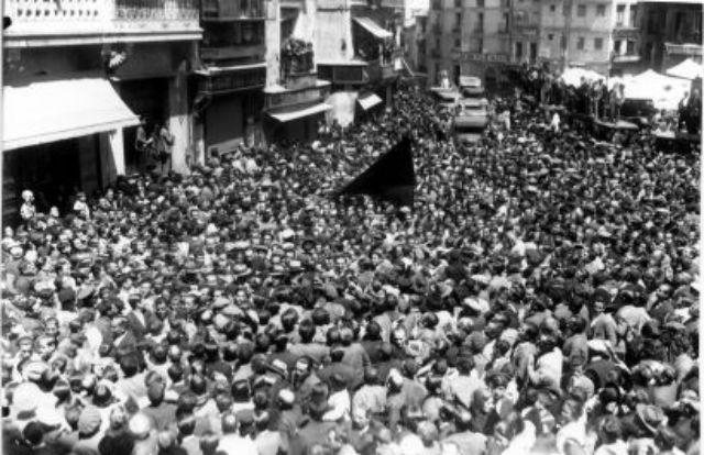 Proclamación de la II República en Toledo, el 14 de abril de 1931. (c) Fondo Rodríguez. Archivo Histórico Provincial. JCCM. Signatura Album4-1480