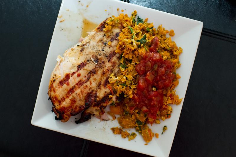 Chicken & Sweet Potato Hash