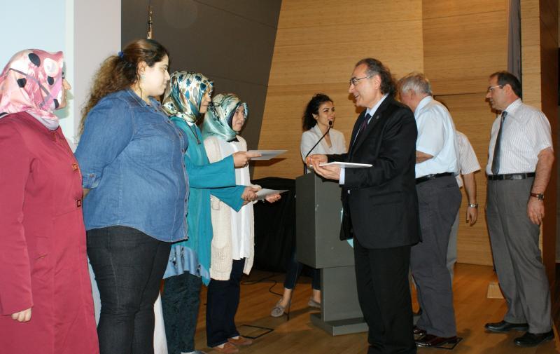 Başarılı öğrenciler için yüksek onur ve onur belgesi töreni düzenlendi