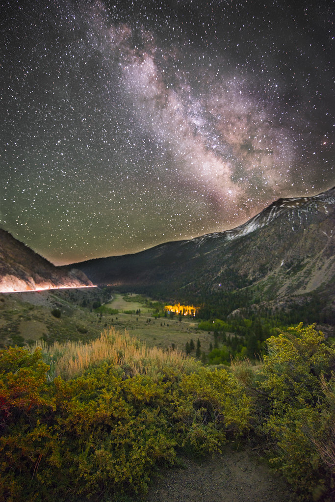 Milky Way over Tioga Pass