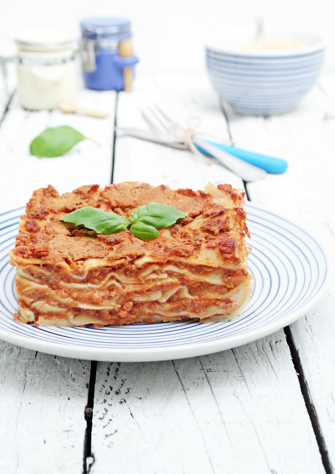 Lasagne al ragout
