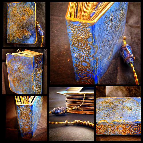 Alchemy |  Miniature Artist Book | Catherine Mommsen Scott