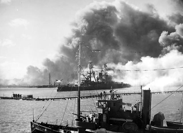 USS Nevada Pearl Harbor History