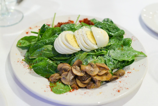 K-Paul's Spinach Salad