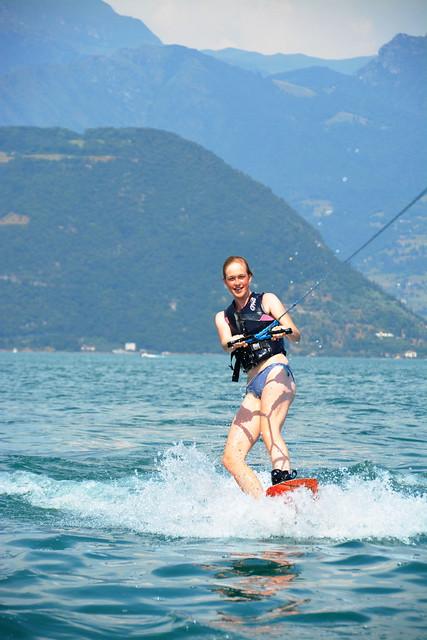 (Poging tot) wakeboarden