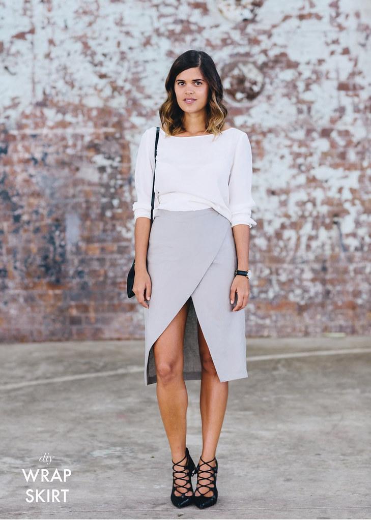DIY Wrap Skirt
