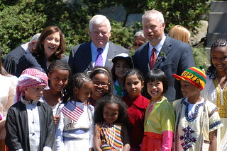4th of July naturalization ceremony, 2011