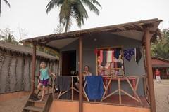 Nasz domek na plaży Polem, Goa