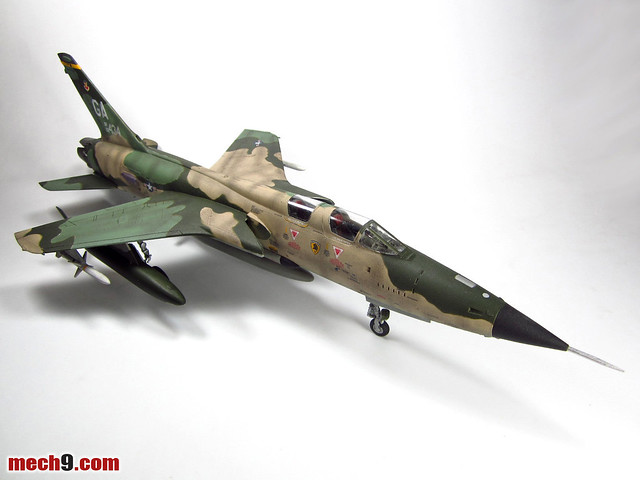 Revell 1 48 F 105g Thunderchief Wild Weasel Completed
