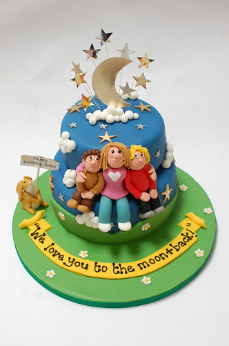 We Love You To The Moon And Back Cake Beautiful Birthday Cakes