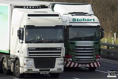 Scania R440 6x2 Tractor - PJ11 YCC - Gail - Eddie Stobart - M1 J10 Luton - Steven Gray - IMG_3086