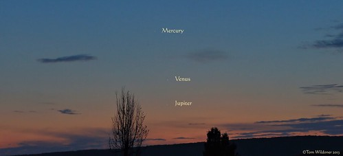 sunset sky night clouds stars timelapse venus mercury astrophotography planets astronomy nightsky jupiter conjunction tomwildoner