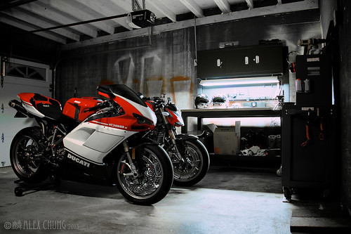 My garage is finally comes together! by Speedy Chung