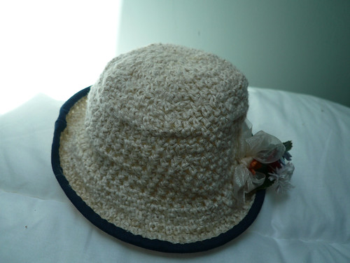 Crochet doll's hat