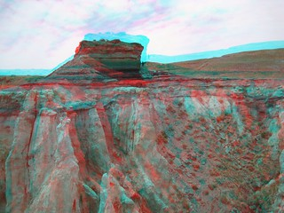Coal Mine Canyon in 3d