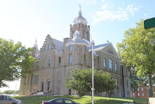 Warrensburg Missouri County Courthouse Johnson County Mo Flickr Photo Sharing