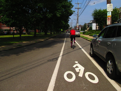 Pittsbirgh Bike lane