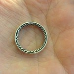 David Yurman ring via eBay