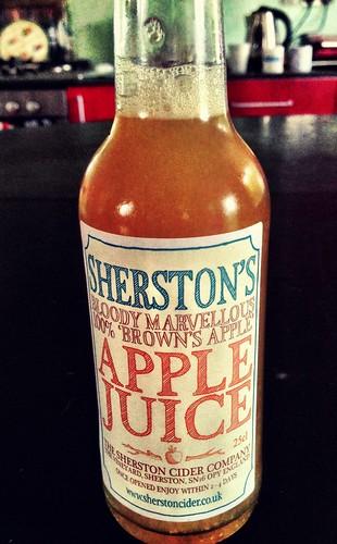 Sherston apple juice