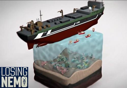 Losing Nemo – короткий анимационный фильм о чрезмерном отлове рыбы