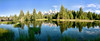 Schwabacher Landing Panorama by Ronnie Wiggin
