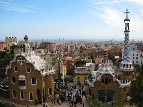Park Güell y Barcelona