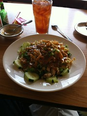 VIC'S CAFE PASO ROBLES CA.  ASIAN SALAD