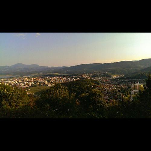 summer sunrise landscape slovenia squareformat normal velenje ifeelslovenia sloavenia uploaded:by=instagram foursquare:venue=4fff1dfee4b0671608f529e7