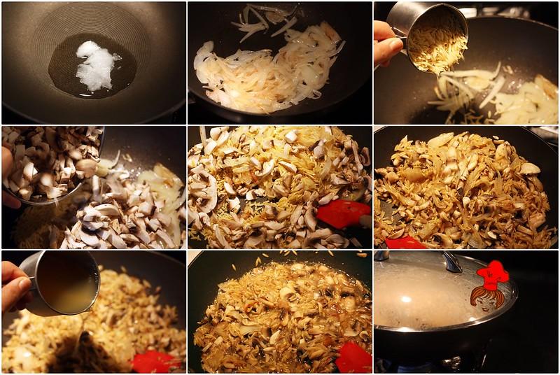 蘑菇義大利米麵 Mushroom Orzo 6.1