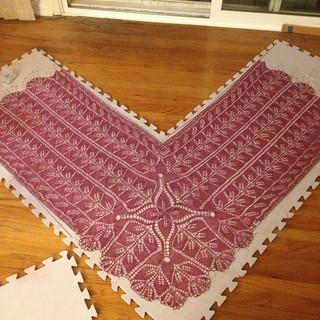 Madrona shawl