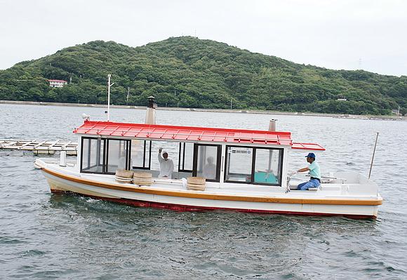 日本海女表演10
