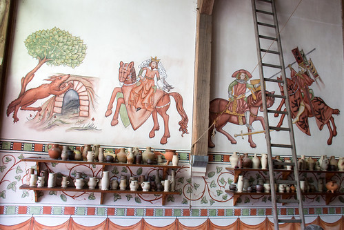 medieval wallpainting