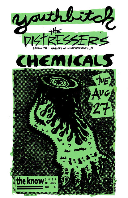 8/27/13 Youthbitch/TheDistressers/Chemicals