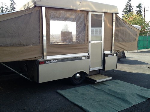 Pictures Of Vintage Pop Up Campers: Dainty Daisies: My New To Me