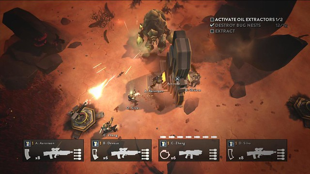 Helldivers on PS4, PS3 and PS Vit