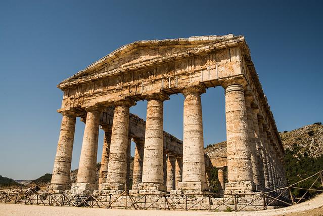 Segesta, el templo
