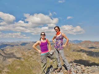 Summit of Handies Peak (14,048 ft)