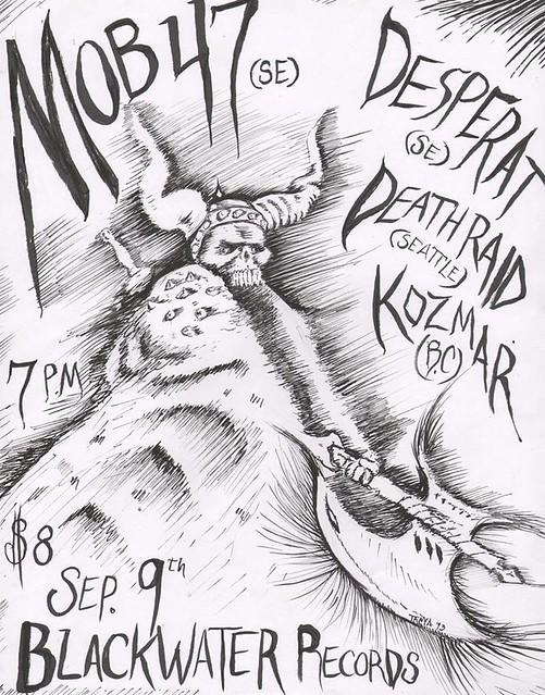 9/9/13 Mob47/Desperat/Deathraid/Kozsmar