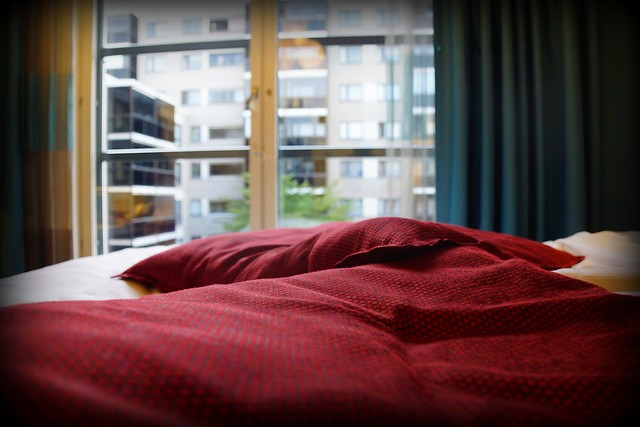 Comfy rooms at the Radisson Blu Plaza in Helsinki